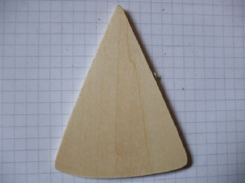 Birch Ply Wooden Triangle Wood Craft Shape